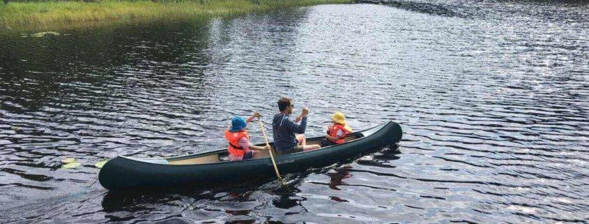 Canoeing in Sweden
