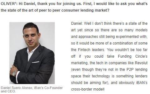 Interview with Daniel Suero Alonso