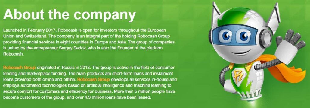 Robocash about the company