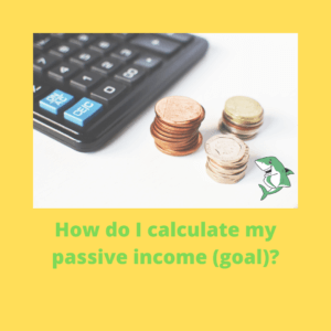 How do I calculate my passive income