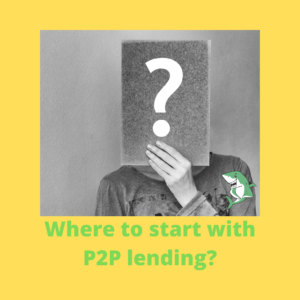 Where to start with P2P lending