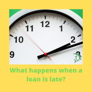 What happens when a loan is late