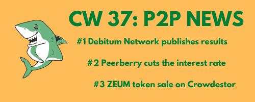 P2P News CW 37: ZEUM token sale on Crowdestor